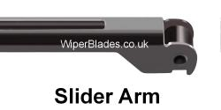 New Slider Fit Wiper Arm