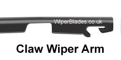 New Claw Fit Wiper Arm