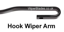 New Hook Fit Wiper Arm