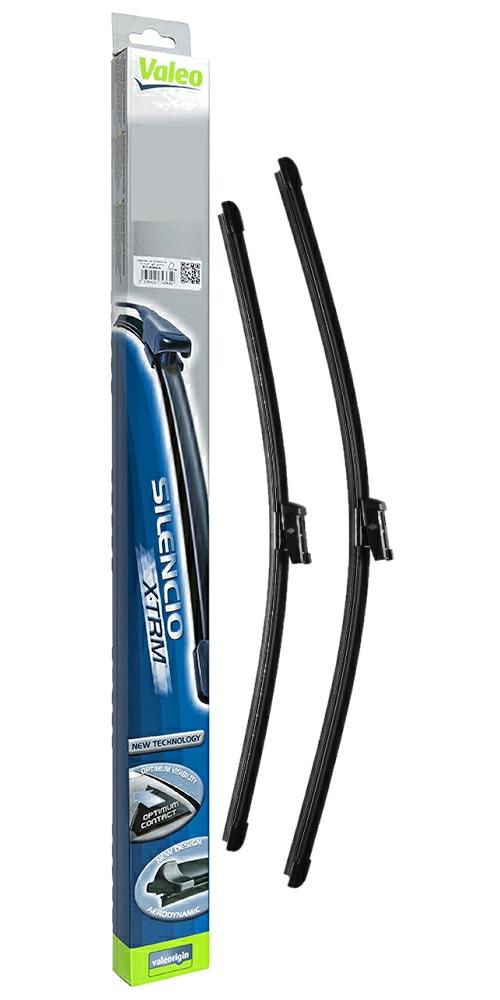 05//05-12//06 Front Flat Bosch Windscreen Wiper Blade Set for Volvo XC90 2.4