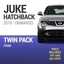 Wiper Blades to Fit a Nissan Juke 2011 - 2017 - Front Screen Twin Pack From only £11.70 Including Delivery