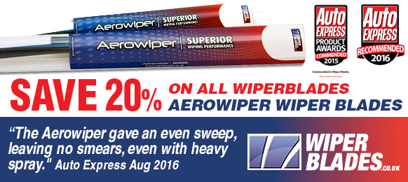 Sale Now on - 20% off Aerowiper Retrofit & Direct Fit Flat Wiper Blades