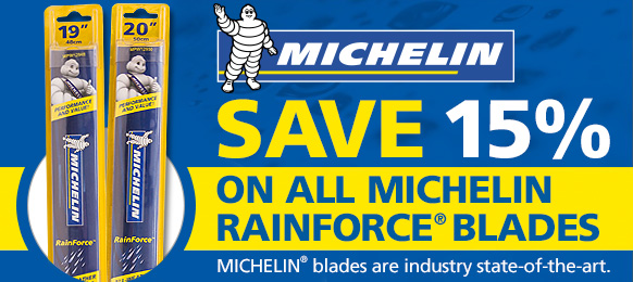 Michelin RainForce Wiper Blades Now on Sale - Save 15%