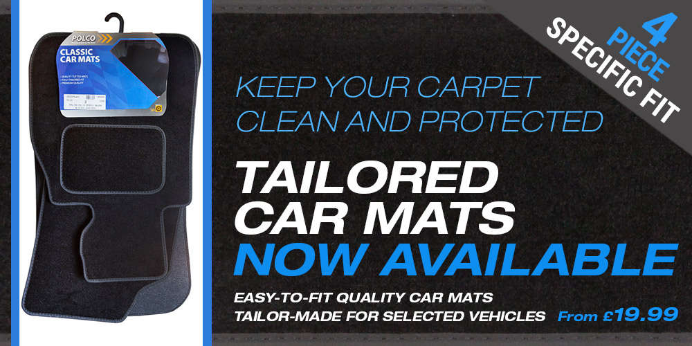 Tailored Car Mats Now Available at wiperblades.co.uk