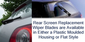 Different Types of Rear Screen Wiper Blades